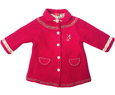 SPROUT Girls Pink Wool Winter Jacket Coat Size 1