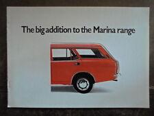 MORRIS MARINA 1.8 ESTATE orig 1972 1973 UK Mkt Sales Brochure - BL 2947/A