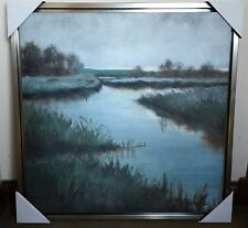 NEW HD PRINT OIL PAINTING ON CANVAS, LANDSCAPE, SCENERY, READY TO HANG, FRAMED