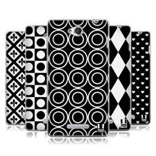 Fundas y carcasas Head Case Designs color principal negro para teléfonos móviles y PDAs Sony