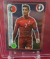 Cristiano Ronaldo Portugal Euro 2016 Swiss Silver Panini Sticker