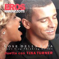 Eros Ramazzotti Duetto Con Tina Turner CD Single Cose Della Vita