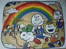 Vintage JC Penney Peanuts Snoopy's Marathon Pillow Sham