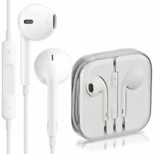 Genuine Apple MD827ZM/A 3.5mm Headphone Earphone with Remote and Mic