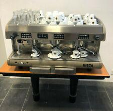 Espressomaschine WEGA 3 Gruppi, 2x Michaufschäumer, Heisswasserfunktion uvm. mit