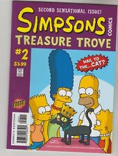 """Simpsons # 2 Treasure Trove """"Hail To The Cat"""" Vf/Nm ?"""