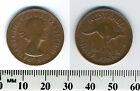 Australia 1961 (p) - Half Penny Coin - Queen Elizabeth II - Kangaroo leaping