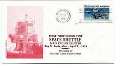 1978 First Propulsion Test Space Shuttle Marshall Flight Center Bay St. Louis