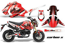 Honda GROM 125 Graphic Kit AMR Racing Bike Decal Motorcycle Parts 13-16 CARBON R