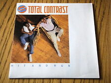 """TOTAL CONTRAST - HIT AND RUN   7"""" VINYL PS"""