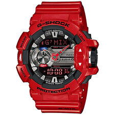 CASIO G-SHOCK G'MIX Bluetooth Red Watch GShock GBA-400-4A