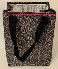 Pampered Chef On the Go Insulated Tote / Shopping Bag #1213 - Paisley Nip