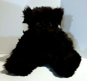 Authentic Vermont Jointed Black Teddy Bear