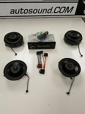 Mercedes 1986-89 124 chassis E Class Sedan Upgrade Bluetooth/AUX sound system