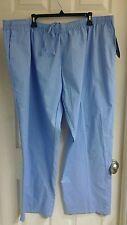 Carol's Scrubs, women's plus size 3X (24-26) blue scrubs, elastic waistband
