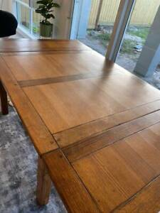 Vintage Solid Timber Extendable Dining Table