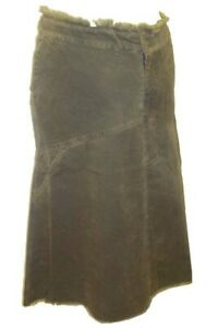 Maternity Skirt - Khaki Cord - Sizes 10, 12, 14, & 18 - Brand New with Tags