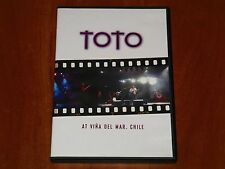 TOTO AT VINA DEL MAR FESTIVAL LIVE IN CHILE 2004 DVD CONCERT STEVE LUKATHER New