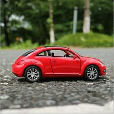 VW New Beetle Model Cars 1:36 Toys Open two doors Collection Alloy Diecast Red