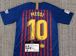 Messi Jersey Signed