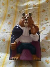 Disney Beauty and the Beast Hand Puppet Pizza Hut Plastic Toy Figure BEAST 1992