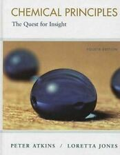 Chemical Principles: The Quest for Insight, Peter Atkins, Loretta Jones, Good Bo