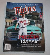 Minnesota Twins Program Magazine | June July 2013 | Glen Perkins