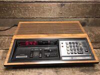General Electric 4880 The Great Awakening Programmable Alarm Clock Radio Working