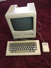 Macintosh Plus 1MB Desktop Computer (Apple, 1986) w/ Keyboard & Mouse TESTED