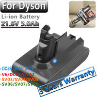 3.0Ah FOR DYSON V6 ANIMAL BATTERY DC58,DC59,DC61,DC62,DC72,DC74,V6 Absolute FAST