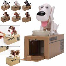Puppy Bank Money Coin Saving Box Kids Gift Pet Dog Stealing Eating Coin Storage