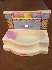 LOVING FAMILY BATHTUB DOLLHOUSE BATH TUB