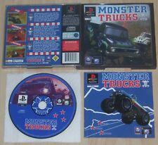 Monster Trucks - PS1 PlayStation 1 - PAL EUR