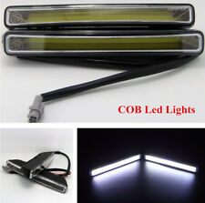 18cm 2Pcs Car Super Bright COB Led Fog/Parking Light DRL Kit Waterproof12V-24V