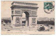 CARTE POSTALE PARIS VIII° L ARC DE TRIOMPHE