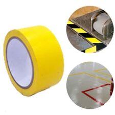 59 Feet Warning Tape Warehouse Floor Safety Barrier Waterproof PVC Yellow