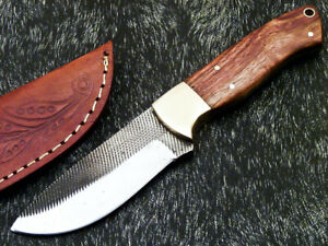 Stunning Handmade HIGH Carbon Real File Steel Fixed Blade Hunting Knife PS-68