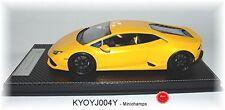KYOSHO J004Y Lamborghini HURACAN Gelb-Metallic - 1:18 #NEU in OVP
