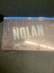 Christopher Nolan Collection Blu-ray . See Pics. Sealed But Tatty Box 13 Discs