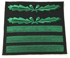 WWII German Waffen Heer Standartenfuhrer Oberst- Camo Rank Sleeve Insignia