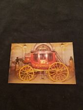 Historic Concord Coach Built in Concord NH Mike Roberts Postcard C10026 Unused