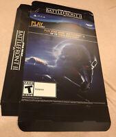 "Star Wars Battlefront ll 2 GameStop Promo Display Box 11x15"" PS4 Darth Maul REY"