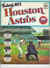 1971 TODAYS HOUSTON ASTROS  DELL TEAM STAMPS ALBUM BOOK