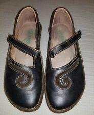 Naot Matai Swirl Womens Brown Metallic Leather Comfort Mary Janes Shoes EURO 36