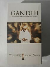 Gandhi - Ben Kingsley (VHS, 2001, 2-Tape Set) - NEW, UNOPENED
