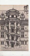 BF16722 chateau de blois aile francois I le grand escal  france front/back image