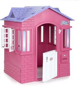 Little Tikes Pink Cape Cottage Outdoor Playhouse