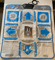 Dance Dance Revolution: Hottest Party Game(Wii, 2008), with Dance Pad (RU-054)