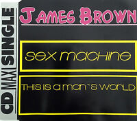 James Brown Maxi CD Sex Machine / This Is A Man's World - Germany (EX/EX)