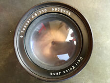 Carl Zeiss Jena Tessar 4.5/250mm for large format lens